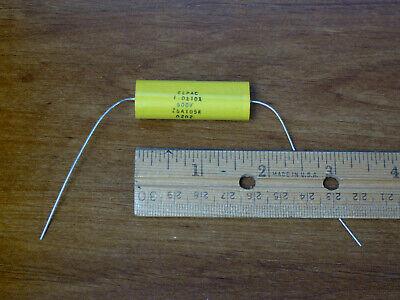 Film Capacitor 1uf 600v 10 Axial Z6a105k