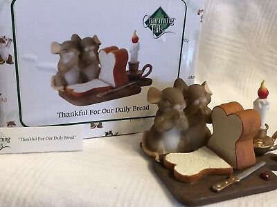 """Charming Tails """"THANKFUL FOR OUR DAILY BREAD"""" DEAN GRIFF NIB"""