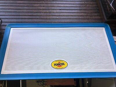 Penzoil Sign Menu Board Advertising 41 X 21