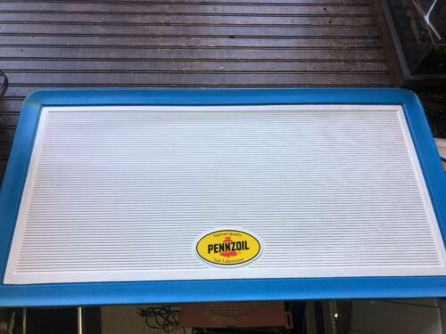 "Penzoil SIGN MENU BOARD Advertising 41"" x 21"""