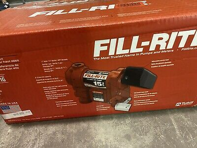 Fill-rite Fr1211g 12v 15 Gpm57 Lpm Fuel Transfer Pump