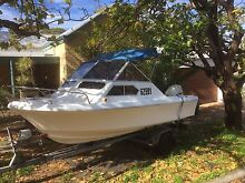 5.5m Pacemaker half cabin 115hp Evinrude - PRICE DROP Subiaco Subiaco Area Preview