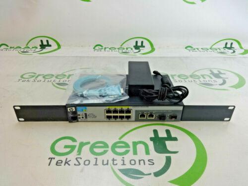 HP ProCurve J9298A 2520G 8-Port PoE Switch w Adapter