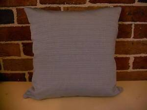 Scatter Cushion Covers - Light Grey Horizontal Textured Stripe Terrigal Gosford Area Preview