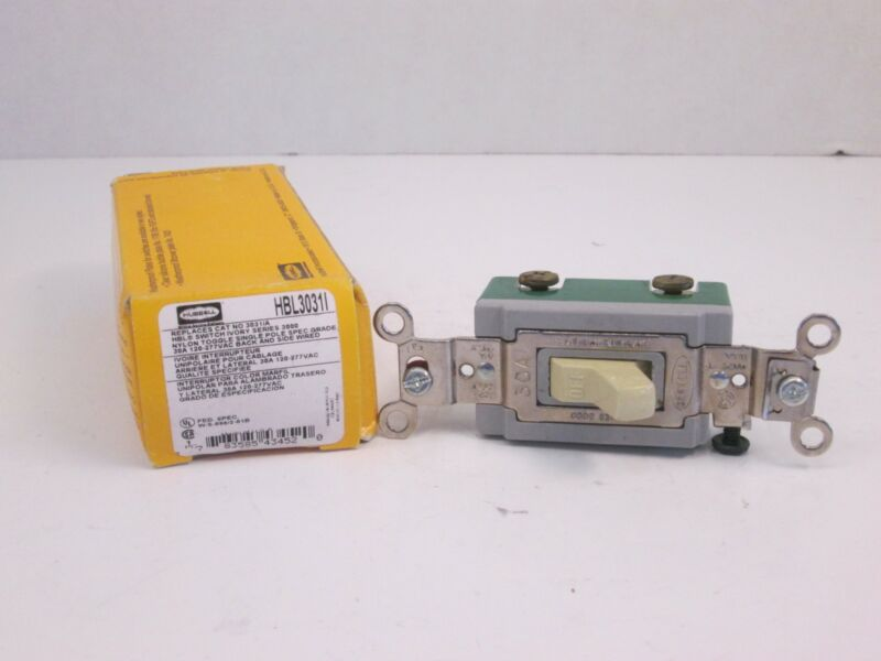 Hubbell HBL3031I Switch, 30A