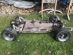 VW Beetle shortened rolling chassis