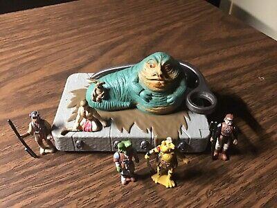 Vintage Star Wars Micro Machines Action Fleet Battle Pack 8 Jabba the Hut 1996