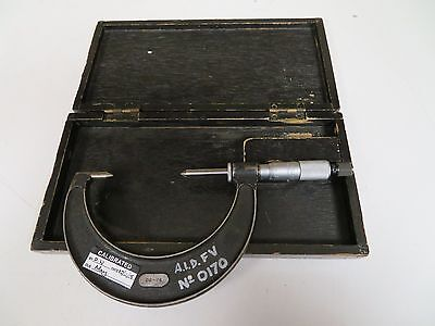 Moore Wright 50-75mm Metric Point Micrometer - Fs20
