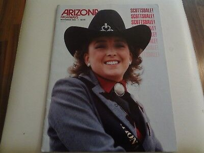 Arizona Highways, November 1983, Scottsdale!