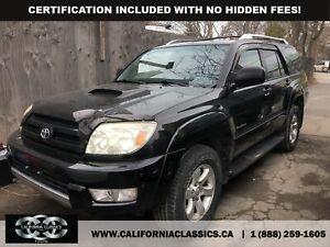 2005 Toyota 4Runner SPECIAL EDITION! 4.0L! SUNROOF! - 4X4