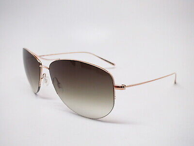 Oliver Peoples OV 1004S Strummer-T G Gold w/Green Gradient (S Oliver Sunglasses)