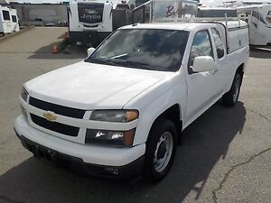 2012 Chevrolet Colorado 1LT Ext. Cab 2WD with Service Canopy