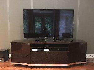 Marble Finish  TV Stand