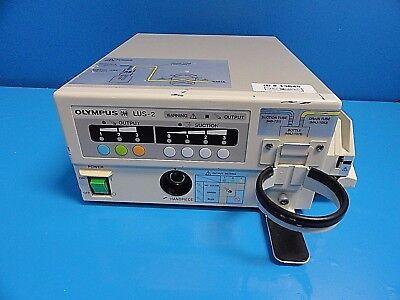 Olympus Oes Lus-2 Ultrasonic Lithotriptor W Easy-load Masterflex Pump 13645