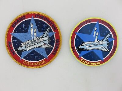 "NASA STS-5 Space Shuttle Columbia 4"" Diameter Patch & Sticker Vintage UNUSED"