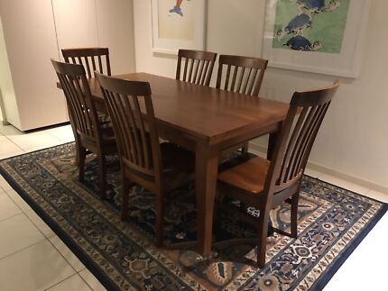 Dining Table And Chairs With Matching Buffet