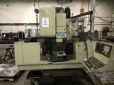 Hamai Mc-5va 50 Taper Vertical Machining Center. Vmc