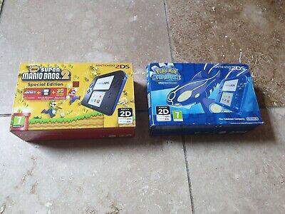Nintendo 2DS Pokemon Alpha Sapphire Edition Console - RARE