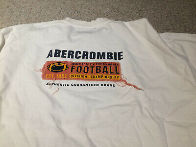 Lot of 2 vintage, RARE styles Abercrombie XL t-shirts 100% cotton for sale  Rockford