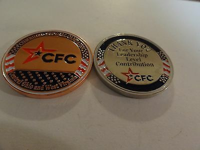 Challenge Coin Cfc Combined Federal Campaign Central Ohio And West Virginia