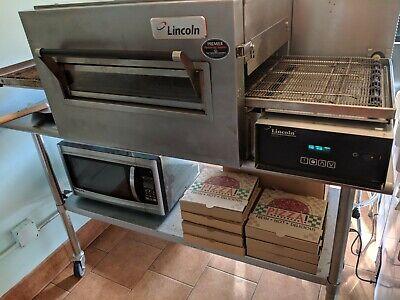 Lincoln 1162-080-a Commercial Conveyor Pizza Oven Restaurant - Read Description