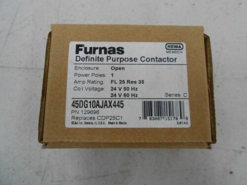 FURNAS ELECTRIC CO 45DG10AJAX445  DEFINITE PURPOSE CONTACTOR