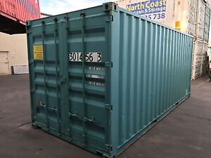 20ft Shipping Container B-GRADE with Vents & Whirly Bird Port Macquarie Port Macquarie City Preview