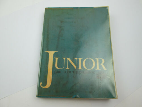Vintage 1964 Junior Girl Scout Handbook PUL193