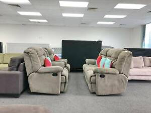 DELIVERY TODAY BEAUTIFUL RECLINER 3X1X1 sofas set lounge