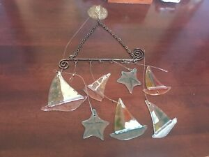 Nautical Stained Glass Window Hanging