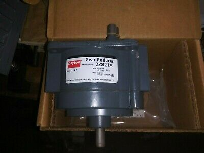 Dayton 2z821a Die Cast Aluminum Indirect Drive Speed Reducer 23.4 To 1- New