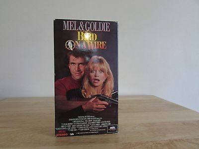 Bird on a Wire VHS 1990 Mel Gibson Goldie Hawn Action Comedy Movie Dolby Stereo