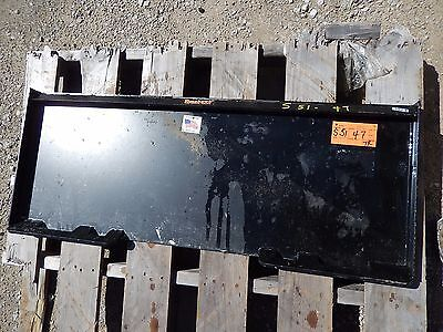 New Skid Steer Skid Loader Quick Attchment Plate Blank Universal Fit Heavy Duty
