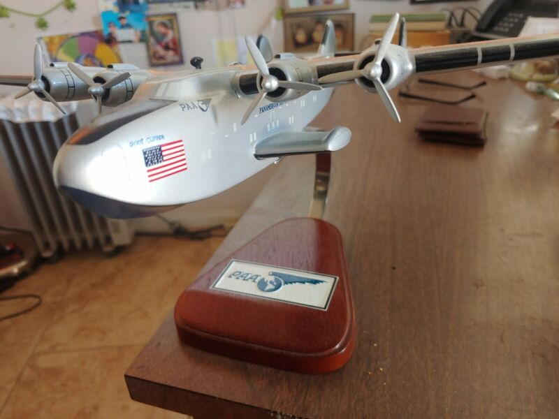 Model Airplane 1939 PAA Boeing Dixie Clipper