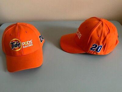 Matt Kenseth Baseball Hat   20 Nascar Adjustable Orange Tide Pods Racing  New