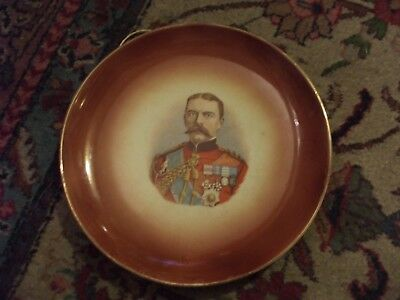 RARE - ANTIQUE GENERAL LORD KITCHENER PLATE