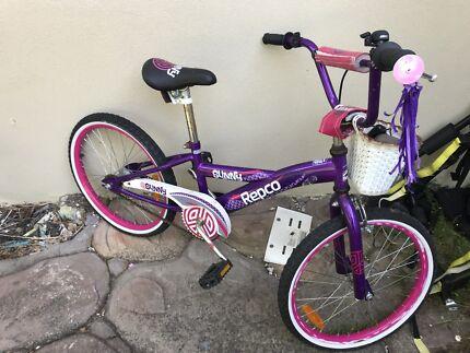 Girl kid bike