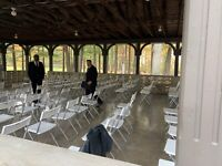 EVENT RENTALS **Chairs**Tables**Linens**DELIVERY or Pick Up