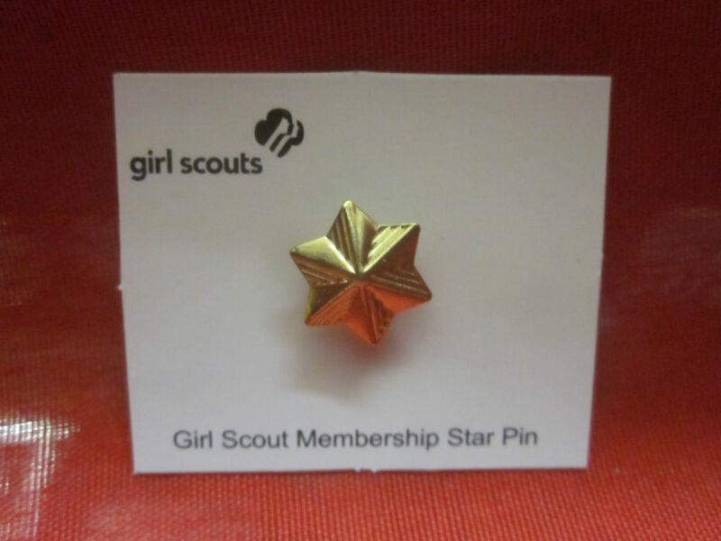 GIRL SCOUTS MEMBERSHIP STAR  PIN