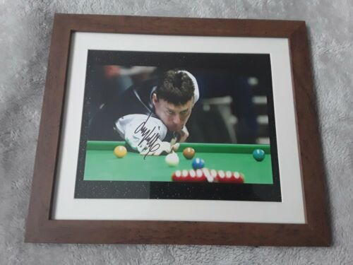 Snooker Legend JIMMY WHITE SIGNED AND FRAMED WITH COA
