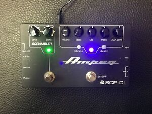 ON HOLD -!Ampeg SCR-DI