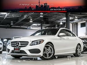 2015 Mercedes-Benz C400 AMG|HEADS-UP|BURMESTER|BLINDSPOT|REAR CA
