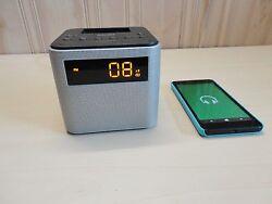Philips AJT3300/37 Bluetooth Dual Alarm Clock Radio and Speaker