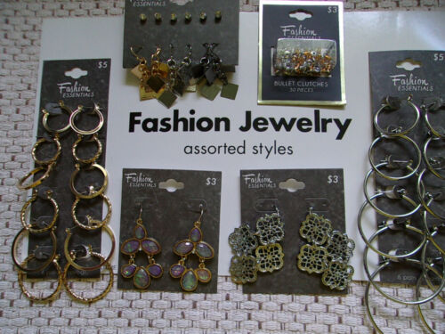 Lot of FASHION ESSENTIALS Earrings