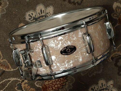 """Very Rare LYRA/STAR Japan WMP Sling-RK Stencil 5.5x14"""" 8-Lug Snare Drum"""