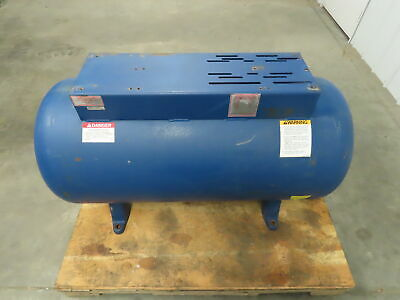 60 Gallon Horizontal Compressed Air Receiver Tank Wtop Plate 200 Psi. 450 F