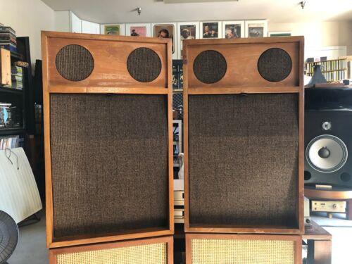 RARE Pair JansZen three-way Speakers *Working perfect*