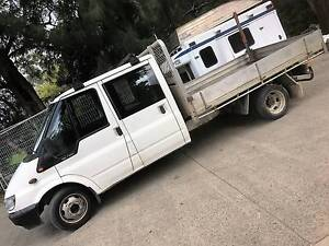 ford transit crewcab ute camper motorhome campervan truck twincab Middle Dural The Hills District Preview