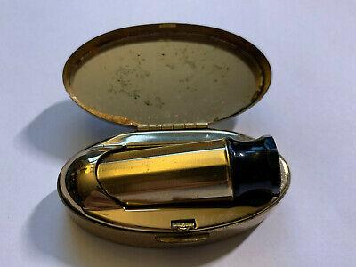 Vintage Max Factor Lipstick Holder Case 1950's / 1960's