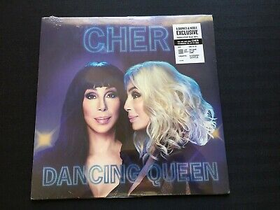 Barnes and Noble Exclusive CHER DANCING QUEEN Blue Translucent Music of ABBA